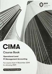 CIMA P1 Management Accounting : Course Book, Paperback / softback Book