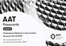 AAT Personal Tax FA2019 : Passcards, Spiral bound Book