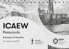 ICAEW Principles of Taxation : Passcards, Spiral bound Book