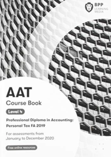 AAT Personal Tax FA2019 : Course Book, Paperback / softback Book