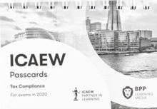 ICAEW Tax Compliance : Passcards, Spiral bound Book