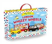 My First London Whizzy Wheels : Four Vehicle-Shaped Board Books in a Carry Case, Multiple copy pack Book