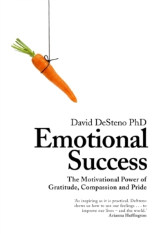 Emotional Success : The Motivational Power of Gratitude, Compassion and Pride, Hardback Book