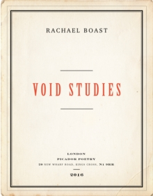 Void Studies, Paperback Book