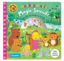 Monkey Music Magic Sounds : Book and CD Pack, Hardback Book