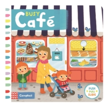 Busy Cafe, Board book Book
