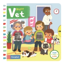 Busy Vet, Board book Book