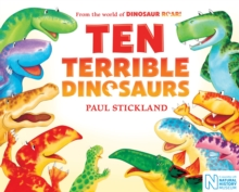 Ten Terrible Dinosaurs, Paperback / softback Book