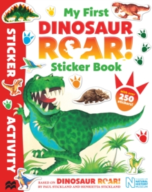 My First Dinosaur Roar! Sticker Book, Paperback Book