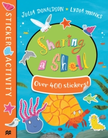 Sharing a Shell Sticker Book, Paperback Book