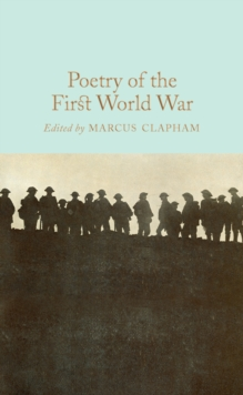 Poetry of the First World War, EPUB eBook