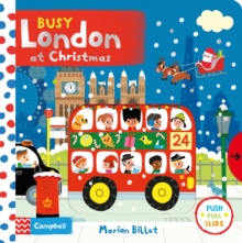 Busy London at Christmas, Board book Book