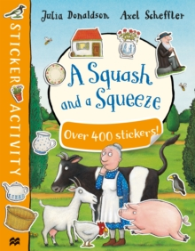 A Squash and a Squeeze Sticker Book, Paperback / softback Book