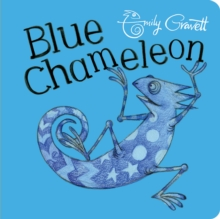Blue Chameleon, Board book Book
