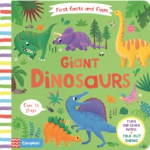 Giant Dinosaurs, Board book Book