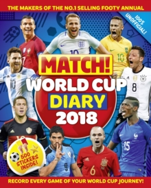 Match! World Cup 2018 Diary, Paperback Book