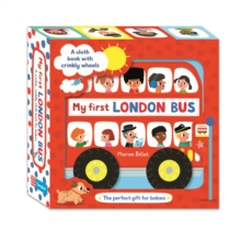 My First London Bus Cloth Book, Rag book Book