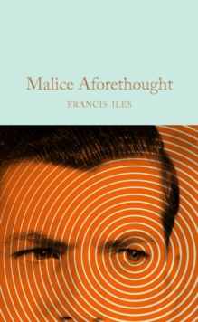 Malice Aforethought, Hardback Book