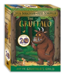 The Gruffalo and the Gruffalo's Child Board Book Gift Slipcase, Mixed media product Book