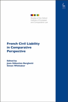 French Civil Liability in Comparative Perspective, PDF eBook
