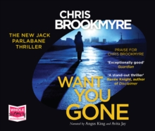 Want You Gone, CD-Audio Book