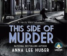 THIS SIDE OF MURDER A VERITY KENT MYSTER, CD-Audio Book