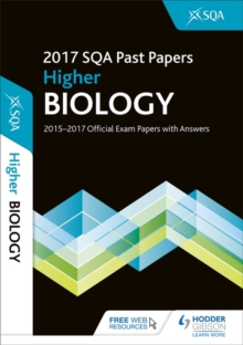 Higher Biology 2017-18 SQA Past Papers with Answers, Paperback Book