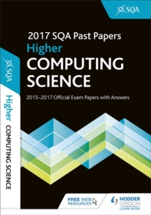 Higher Computing Science 2017-18 SQA Past Papers with Answers, Paperback Book