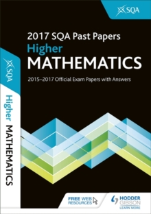 Higher Mathematics 2017-18 Sqa Past Papers with Answers, Paperback Book