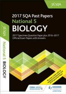 National 5 Biology 2017-18 SQA Specimen and Past Papers with Answers, Paperback Book