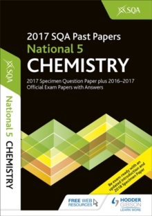 National 5 Chemistry 2017-18 SQA Specimen and Past Papers with Answers, Paperback Book