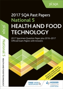 National 5 Health & Food Technology 2017-18 SQA Specimen and Past Papers with Answers, Paperback Book