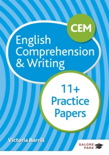 CEM 11+ English Comprehension & Writing Practice Papers, Paperback / softback Book