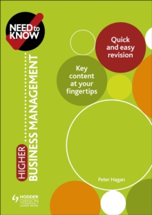 Need to Know: Higher Business Management, EPUB eBook