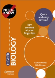 Need to Know: Higher Biology, EPUB eBook