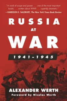 Russia at War, 1941-1945 : A History, Paperback / softback Book