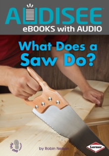 What Does a Saw Do?, EPUB eBook