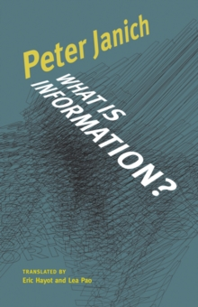 What Is Information?, Paperback / softback Book