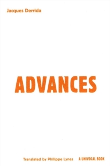 Advances, Paperback Book