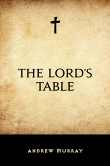 The Lord's Table, EPUB eBook