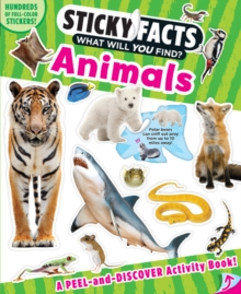 Sticky Facts: Animals, Paperback Book