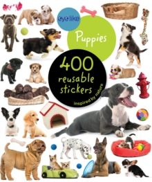 Eyelike Stickers: Puppies, Paperback Book