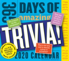 365 Days of Amazing Trivia! Page-A-Day Calendar 2020, Calendar Book