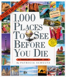 2020 1,000 Places to See Before You Die Picture-A-Day Calendar, Calendar Book