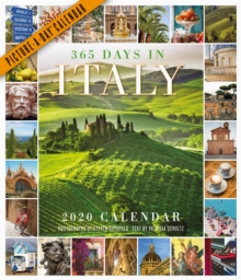 2020 365 Days in Italy Picture-A-Day Calendar, Calendar Book