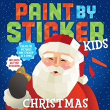 Paint by Sticker Kids: Christmas, Paperback / softback Book