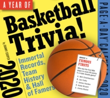 A Year of Basketball Trivia! Page-A-Day Calendar 2020 : Immortal Records, Team History & Hall-Of-Famers, Calendar Book