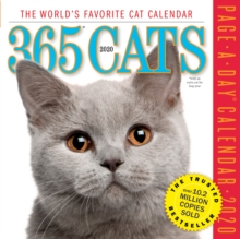 365 Cats Page-A-Day Calendar 2020, Calendar Book
