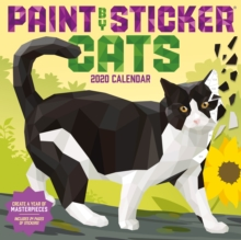 Paint by Sticker Cats Wall Calendar 2020, Calendar Book
