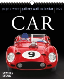 2020 Car Gallery Wall, Calendar Book